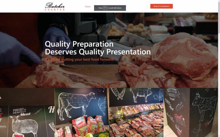 butcher counter