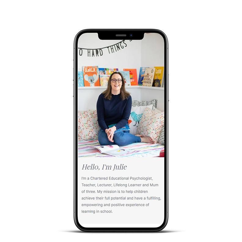 Mobile Splashes Julie Davison single phone cp